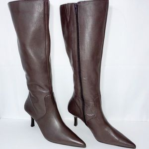 BP. Clothing Taupe Krystal Pointed Boots